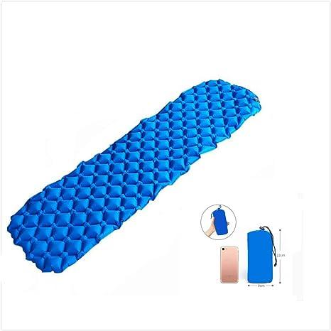 Colchoneta Inflable Colchoneta autoinflable para Colchón de Aire para Exteriores, para Acampar, Playa,