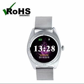 Montres Connectées,Bluetooth Montre Smartwatch soutien de Fréquence cardiaque Montre Fitness tracker Sommeil moniteur pour