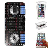 001061 Fun Dj Mixer Turntable Vintage Retro Music Dance Clubber RnB Hip Hop Rave Club Samsung Galaxy S9+ Plus CASE Gel Rubber Silicone Complete 360 Degrees Protection Case Cover