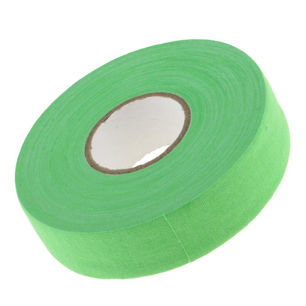 Hockey Cloth Tape Waterproof Adhesive Ice Hockey Lacrosse Stick Wrap Grip Cotton?Multi-color optional