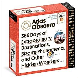 Atlas Obscura Page-A-Day Calendar 2018: Atlas Obscura: 9781523501564