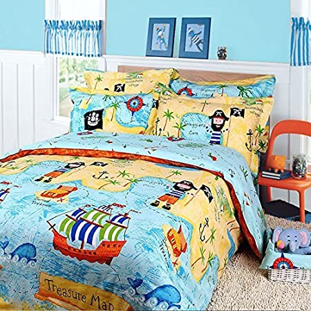 61mW8Mgn58L._SS450_ Pirate Bedding Sets and Pirate Comforter Sets