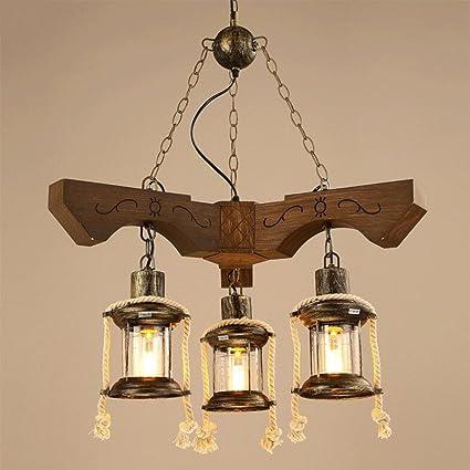 OOFAY Light@ Vintage Lámpara Colgante Lámpara De Techo 3 ...