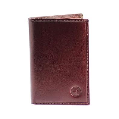 ce02820f43d6 Elephant d or- Grand classique Portefeuille en cuir Marron - Grand Portefeuille  Homme -