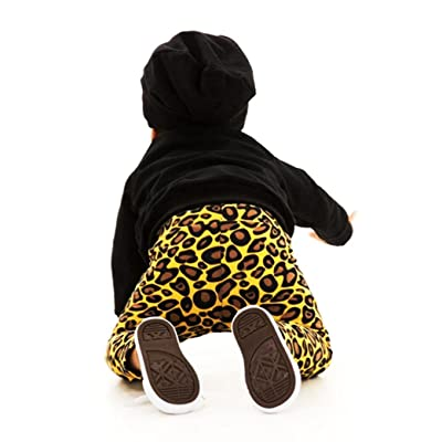 Elevin(TM)Toddlers Infants Baby Kid Girl Boys Leopard leggings Trousers Long Pants Clothes