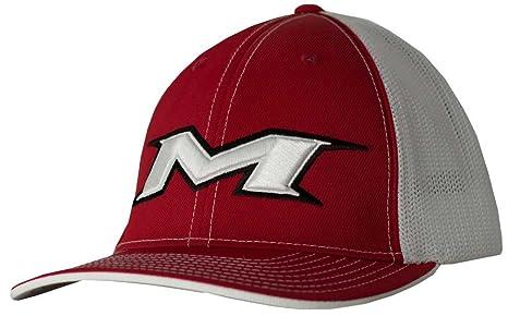 2b76df90 Amazon.com: Miken M-Logo Mesh Baseball/Softball Trucker Hat: Clothing