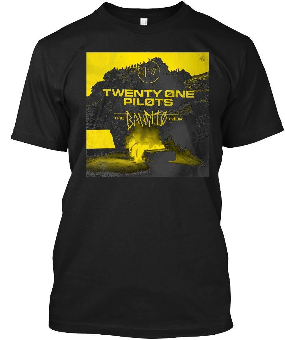 Twenty Bandito One Tour 2019 Pilots Bayong 10 Tee|T-Shirt Black