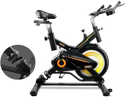 gridinlux. Trainer Alpine 7500. Bicicleta Spinning Pro Indoor. Volante de Inercia 15 kg, Nivel Avanzado, Sistema de Absorción de Impactos, Pantalla LCD, Fitness: Amazon.es: Deportes y aire libre