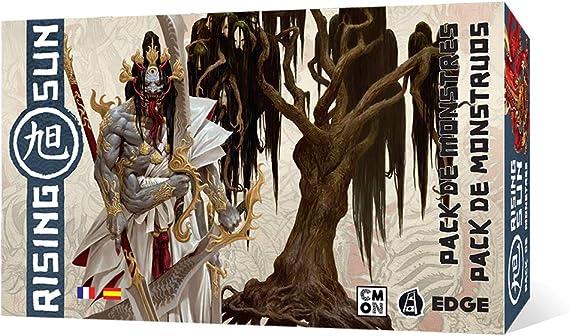 Edge Entertainment- Rising Sun: Pack de Monstruos, Color (EECMRS04): Amazon.es: Juguetes y juegos