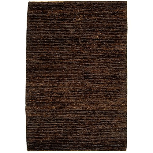 (Safavieh Organica Collection ORG213A Hand-Knotted Brown Wool Area Rug (3' x)