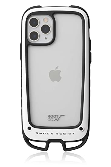 【ROOT CO.】[iPhone11 Pro専用]耐衝撃 Gravity Shock Resist Case +Hold. (ホワイト)