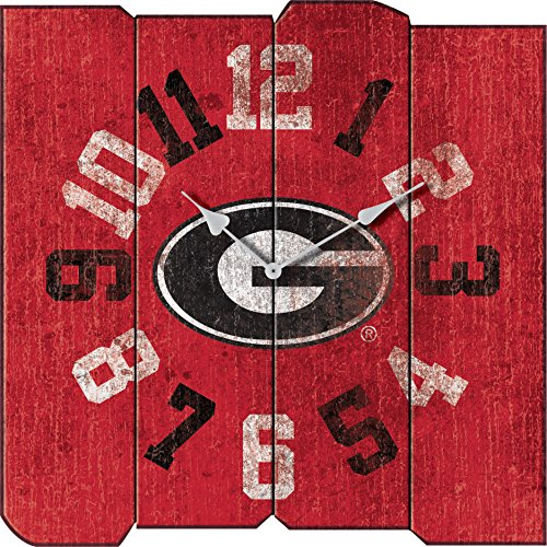 Bulldogs Georgia Clock (Imperial Officially Licensed NCAA Merchandise: Vintage Square Clock, Georgia Bulldogs)