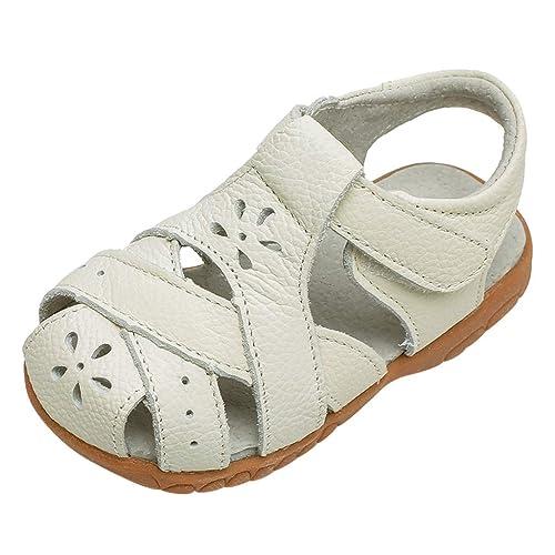 prix compétitif 5a969 17cc1 Bébé Chaussures Cuir véritable, Sandales Bout Fermé WINJIN ...