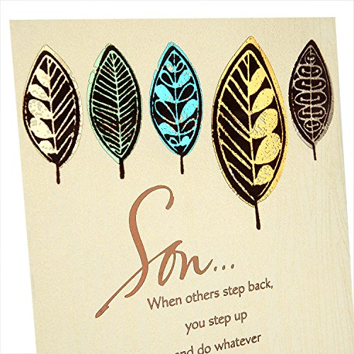 Hallmark Father's Day Greeting Card for Son (A Fine Example of a Good Man) Photo #6