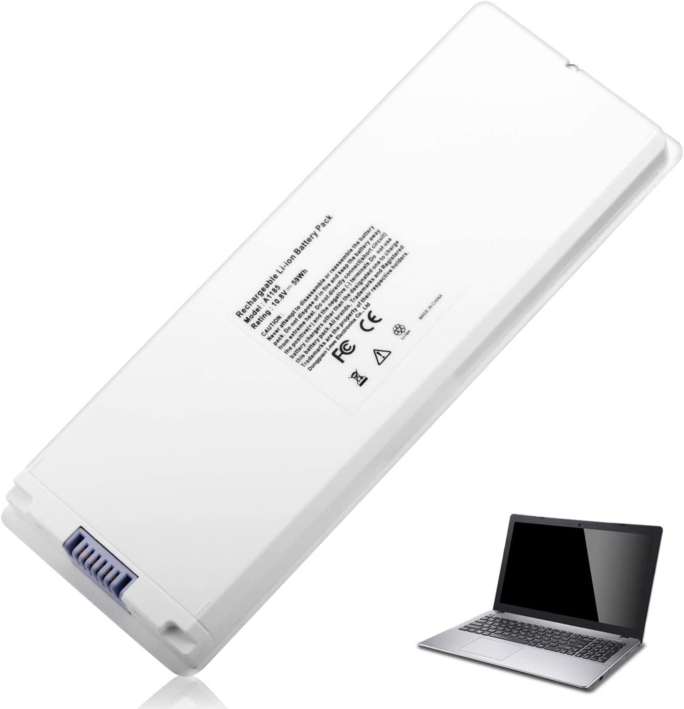 TREE.NB A1185 Battery Compatible with Apple MacBook 13