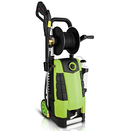 Power Washing Machine >> Highsell 3800psi Electric Pressure Washer Max 2 8gpm Electric Power Washer 1800w High Pressure Washer With Hose Reel Mr3800 Green