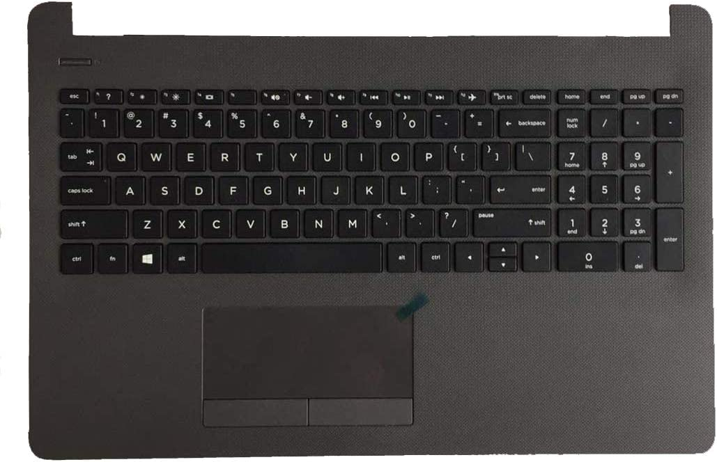 Original New for HP Probook 250 G6/255 G6 Upper Palmrest Case with Keyboard & Touchpad 929906-001