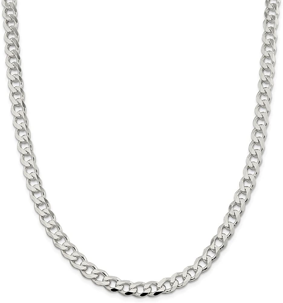 925 Sterling Silver 2.5mm Solid Link Rope Chain Necklace 22 Inch Pendant Charm Regular Fine Jewelry Gifts For Women For Her