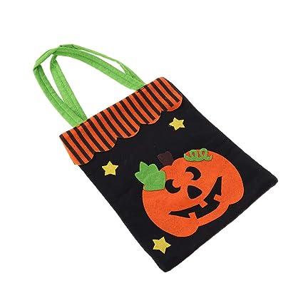 1pc Bolsas de Halloween sin hilar,Reutilizables,útiles para ...