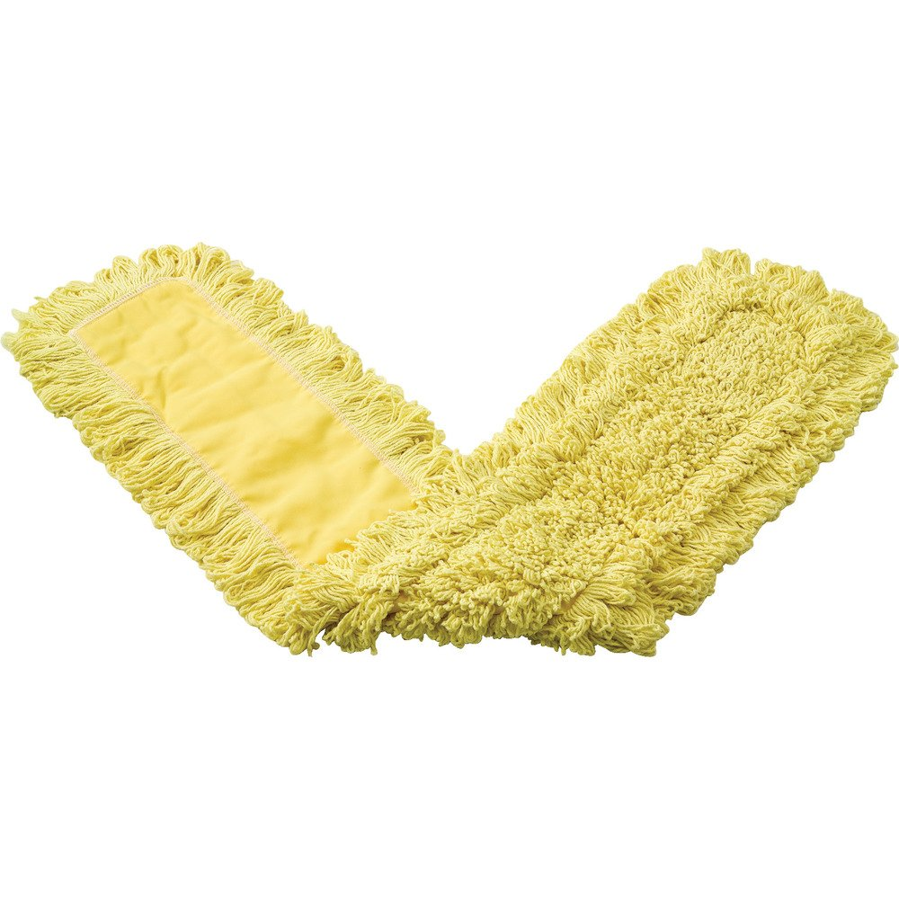 Rubbermaid Commercial Trapper Dust Mop, 48'', Yellow, FGJ15700YL00 by Rubbermaid Commercial Products