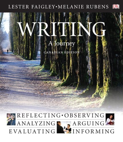 Writing: A Journey, Canadian Edition
