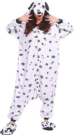 Hstyle Adulto Mamelucos De Dibujos Animados Pijamas Ropa De Dormir Unisex Animal Trajes Cosplay Irregular Perro
