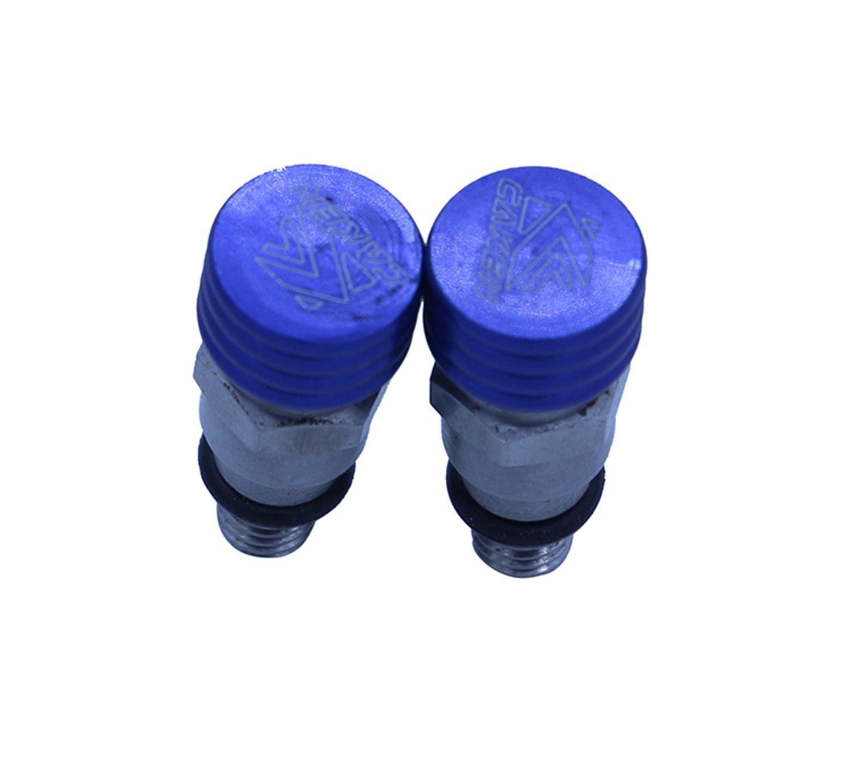 M5 0.8MM Fork Air bleeder Relief Valve YZ125 YZ250 YZ250F YZ450F WR250F WR450F YZ85 YZF WRF RMZ SHowa Kayaba KYB Motorcycle Blue
