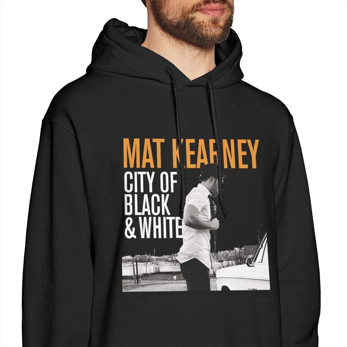 Dxfbdfxn Mat Kearney Fashion Mens Long Sleeve Pullover Top Black