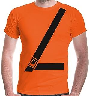 8e4e2510d183c Amazon.com: Old Glory Seatbelt Driver Side Costume All Over Adult T ...