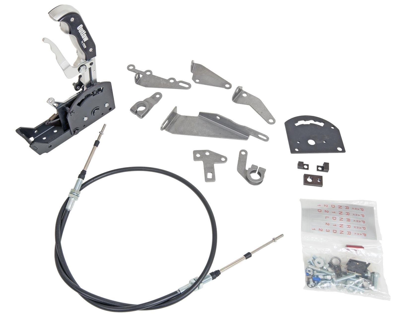 Tci Automotive 616532 Outlaw Shiftr 3spd Rev W/O C by TCI