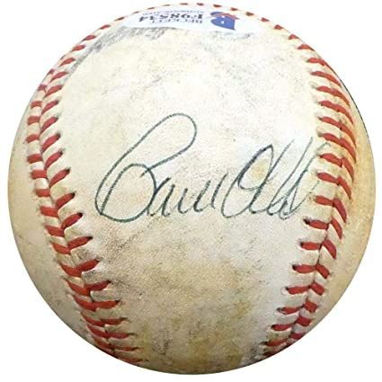 d02e009d1 Paul O Neill Autographed Official NL Game Used Baseball New York Yankees