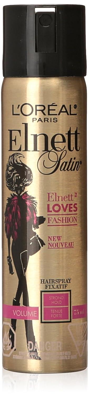 L'Oreal Paris Elnett Loves Fashion Volume Strong Hold Hairspray, 75-Milliliter L' Oreal Paris