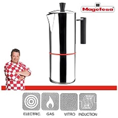 Magefesa Cafeteras Italianas-No Aplicable, 4 Tazas: Amazon.es: Hogar