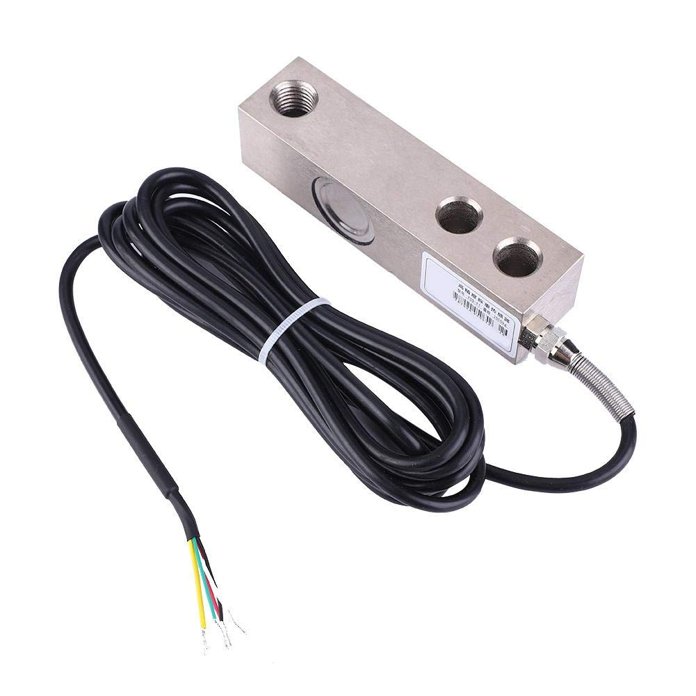 Load Cell, Load Cell Weighing Sensor 2000KG Shear Beam Weighing Sensor Load Cell Scale with Shielded Cable by Yanmis
