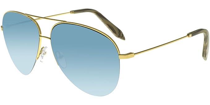 Victoria Beckham - CLASSIC GOLD FLASH BLUE VBS90, metal ...