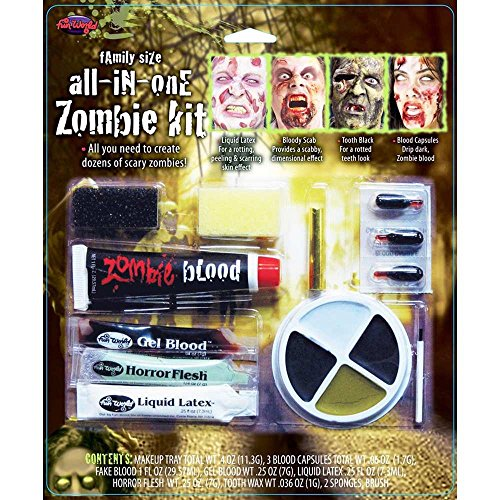 Family Size Zombie Costume Makeup