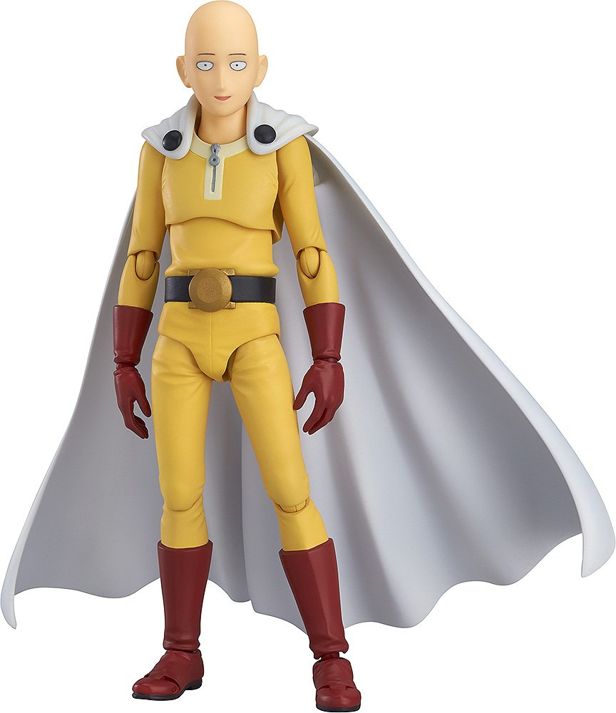 Max Factory One Punch Man Saitama Figma Action Figure