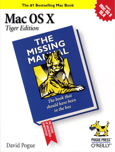 Download Mac OS X Tiger Edition, the Missing Manual, 1st, First Edition pdf