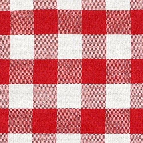 DII Oversized 20x20 Cotton Napkin, Pack of 6, Red & White Check - Perfect for Fall, Thanksgiving, Farmhouse DÃcor, Christmas, Picnics & Potlucks or Everyday Use by DII (Image #2)