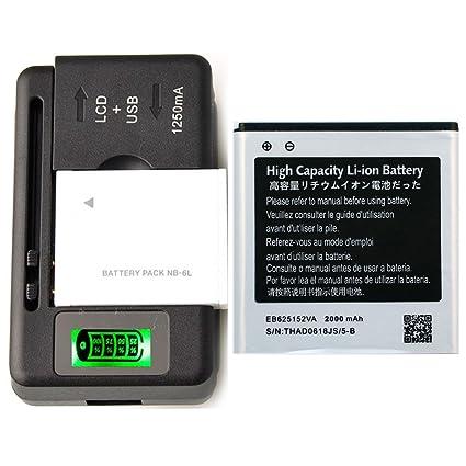 Amazon.com: Nueva batería eb-625152va para Samsung Galaxy ...