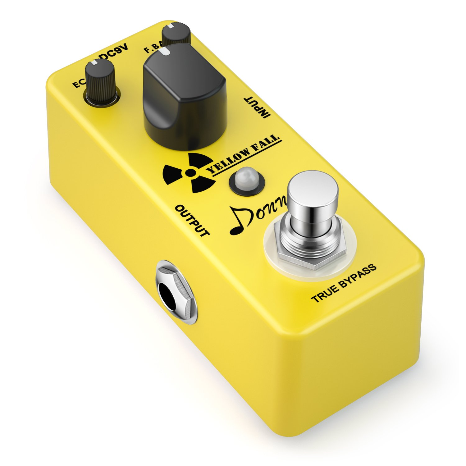 donner yellow fall vintage pure analog delay guitar effect pedal true bypass guitar affinity. Black Bedroom Furniture Sets. Home Design Ideas