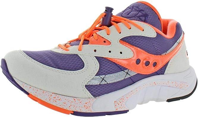 Saucony Aya Purple, White \u0026 Orange