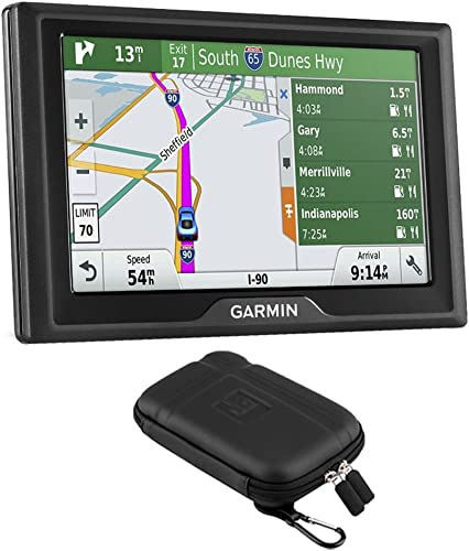 Garmin Drive 50LMT GPS Navigator US Only – 010-01532-0B with GPS Case Bundle