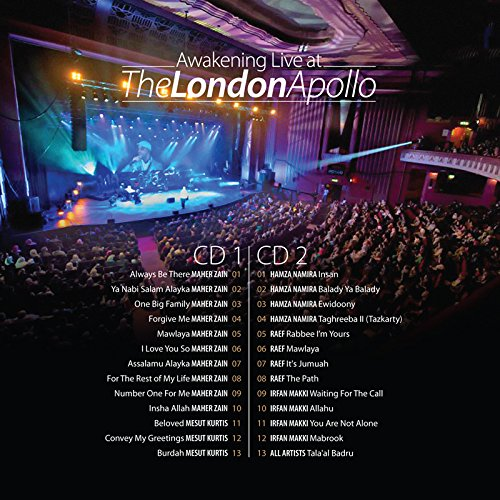 Various artists awakening live at the london apollo 2 cds various artists awakening live at the london apollo 2 cds amazon music m4hsunfo