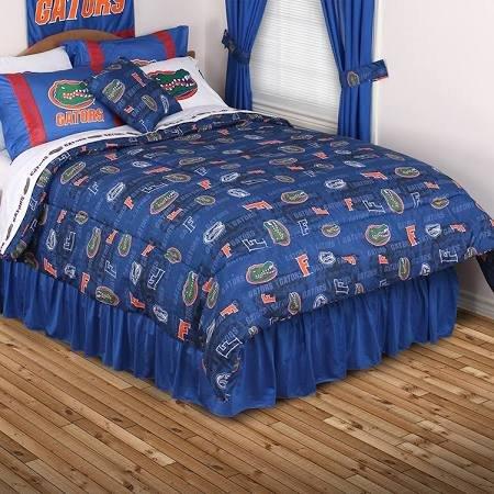 Sports Coverage NCAA Florida Gators All Over Comforter, Twin, Bright Blue