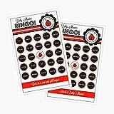 3 sets of 16 Ladybug Party Bingo