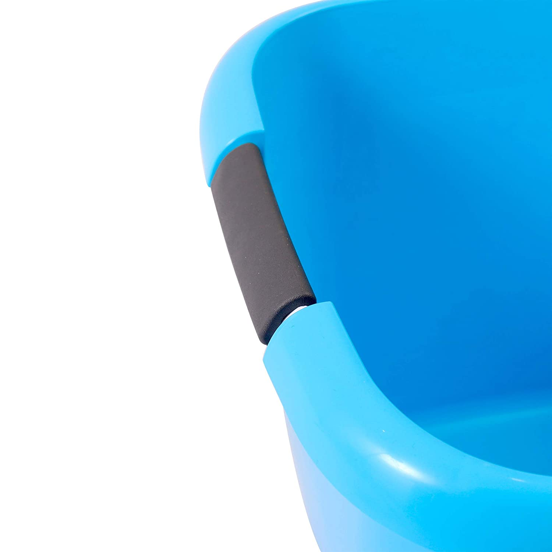 capacidad de 25 litros Tambi/én es adecuado como cesta de transporte o cesta para la ropa VDM Home Products/® BARRE/ÑO XXL 45x33 cm Con c/ómodas asas de agarre suave