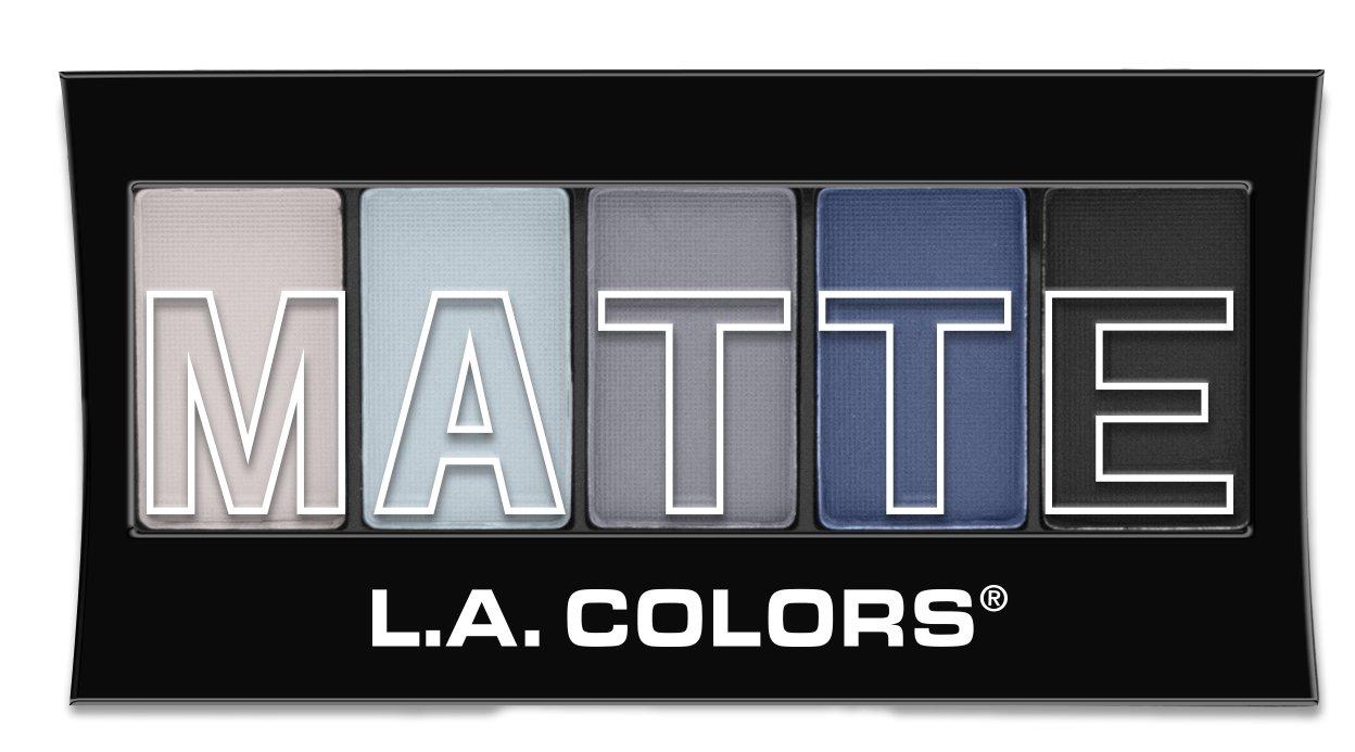 Amazon La Colors 5 Color Matte Eyeshadow Brown Tweed 008