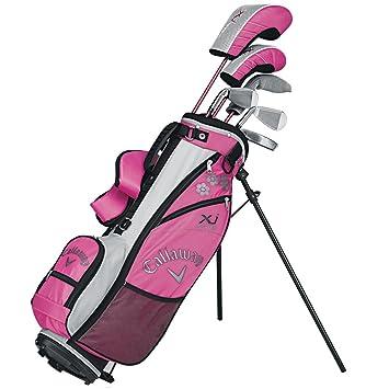 Callaway XJ-Serie - Juego de palos de golf para niña (9-12 ...