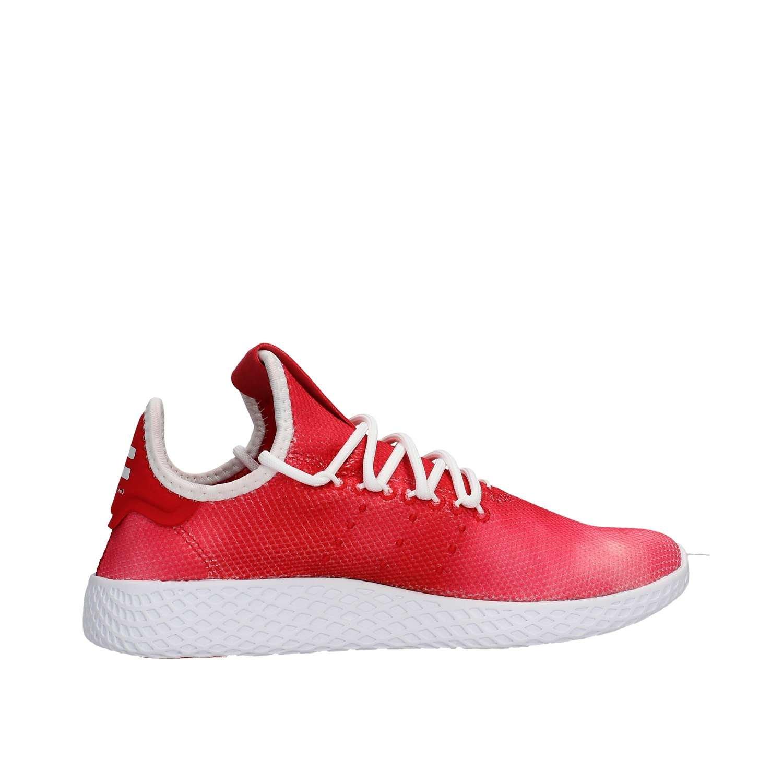 low cost 8b426 cb49f adidas PW Tennis HU J Sneakers Rosso Bianco CQ2301 Amazon.it Scarpe e  borse